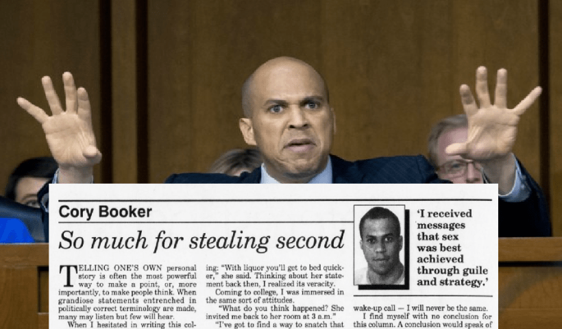 """Cory Booker Happily Bragged About Fondling Girl After She """"Pushed Away"""" His Hand"""