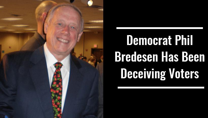 Democrat Phil Bredesen Has Been Deceiving Voters