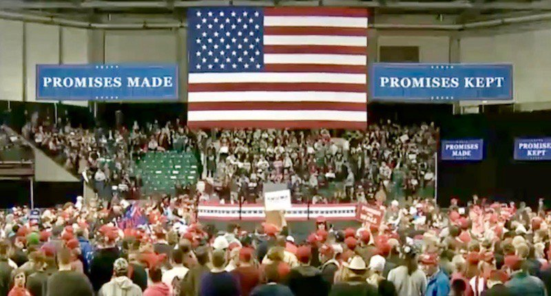 Watch live President Trump holds rally in Topeka Kansas