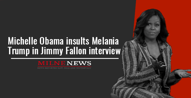 Michelle Obama insults Melania Trump in Jimmy Fallon interview