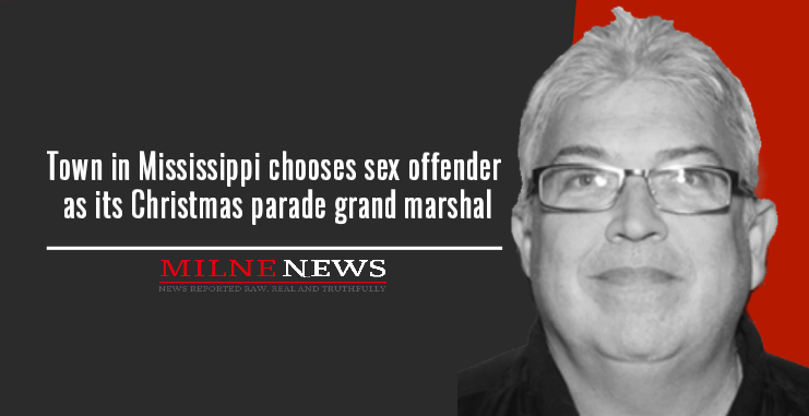 Town in Mississippi chooses sex offender as its Christmas parade grand marshal
