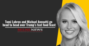 Tomi Lahren and Michael Avenatti go head to head over Trump's fast food feast