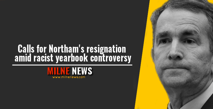 Calls for Northam's resignation amid racist yearbook controversy