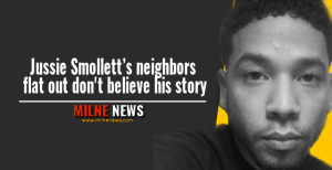 Jussie Smollett's neighbors flat out don't believe his story