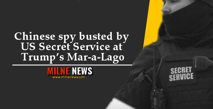 Chinese spy busted by US Secret Service at Trump's Mar-a-Lago