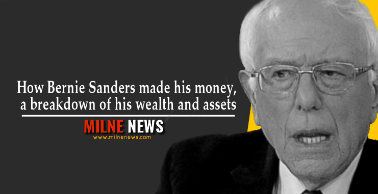How Bernie Sanders made his money, a breakdown of his wealth and assets