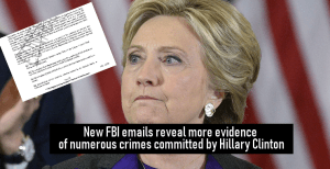 New FBI emails reveal more evidence of numerous crimes committed by Clinton