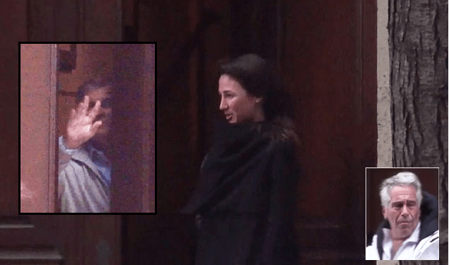 Woman who Prince Andrew waved goodbye to from Epstein's pedophile lair is the daughter of former Australian prime minister