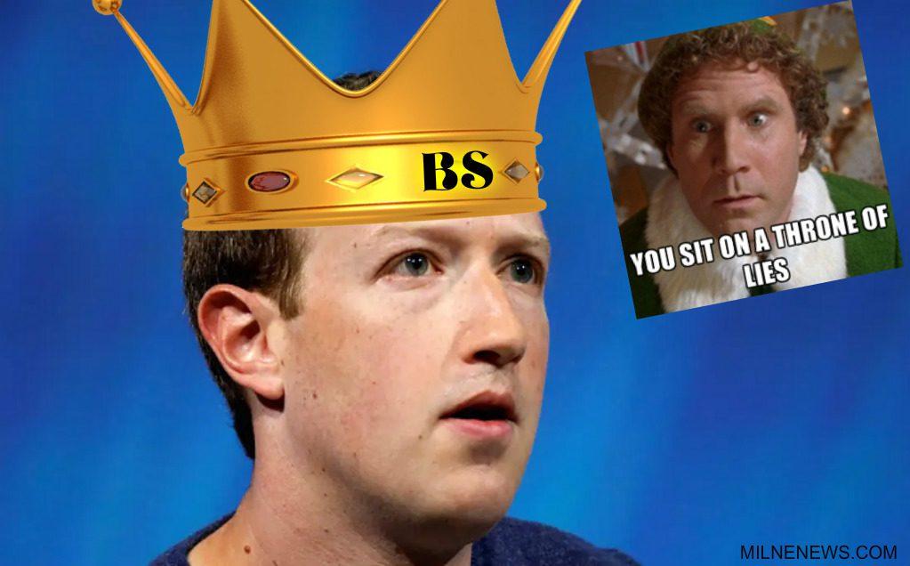 King of BS Mark Zuckerberg constantly lies about Facebook's origin story