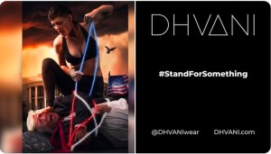 New Dhvani ad campaign shows President Trump held against his will and abused
