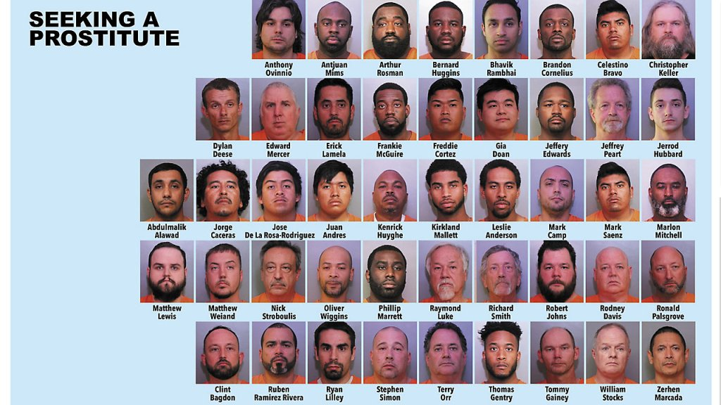 124 arrested in undercover human trafficking operation 'Santa's Naughty List'
