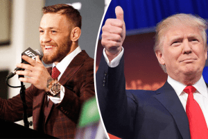 Conor McGregor calls Trump a 'phenomenal' president who 'sits atop the shoulders of many amazing giants'
