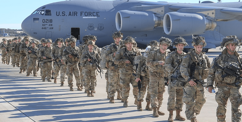 PICTURES: US sends first wave of 750 paratroopers to the Middle East in response to attack on embassy