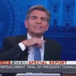 VIDEO: George Stephanopoulos caught on camera signaling ABC Studio to cut-off Trump's defense attorney