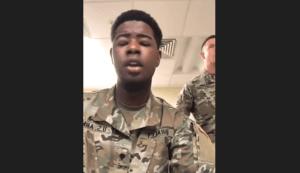 VIDEO: U.S. soldiers sing Amazing Grace