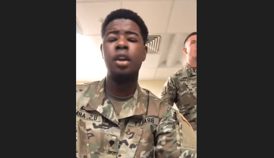 VIDEO: U.S. soldiers sing Amazing Grace