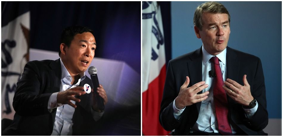 Andrew Yang And Michael Bennet Drop Out Of 2020 Presidential Race