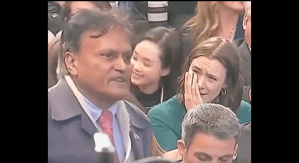 NY Post Correspondent Captured On Video Appearing to Mock Indian Reporter