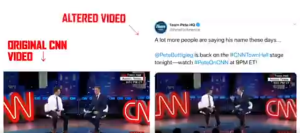 Pro-Bernie Group Hits Out At Buttigieg For Inserting Artificial Audience Applause Into videos