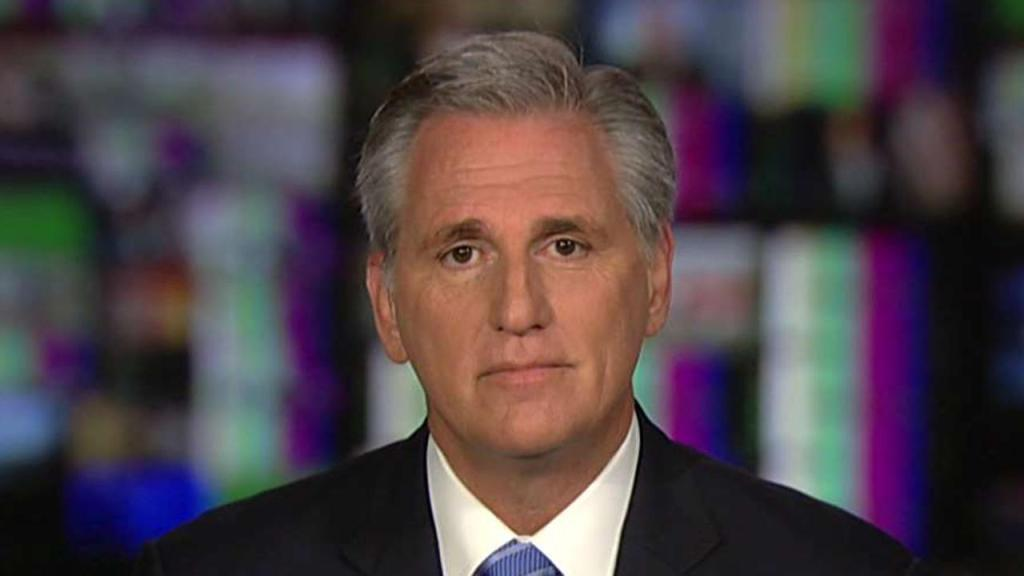 VIDEO: GOP Leader Kevin McCarthy Mocks Pelosi, Rips Up Articles of Impeachment