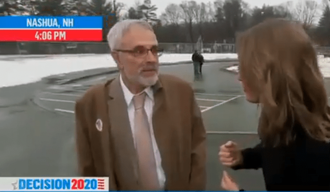 VIDEO : New Hampshire Trump Voter Blasts Bernie Sanders Live On MSNBC