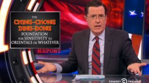 """Stephen Colbert Claims Saying """"Chinese Virus"""" is Racist, Meanwhile, He's Been Racist To Asian People For Years"""