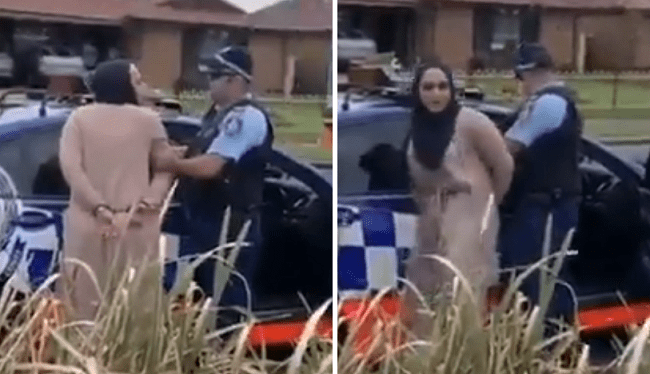 VIDEO: Woman Spits On Police Officer After Being Pulled Over For Speeding