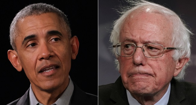 Barack Obama Apparently Convinced Sanders to Drop Out of Democratic Primary