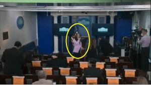 CNN Reporter Removes Mask and Violates Social Distancing After Press Briefing