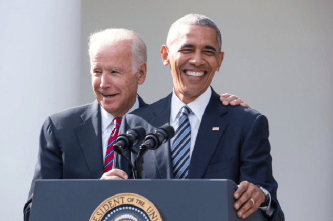Obama Announces He Will Be Campaigning As Hard As He Can For Joe Biden