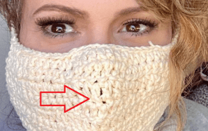 """We Call BS on Alyssa Milano's Claim She Knitted a """"Carbon Filter"""" in Her Mask"""
