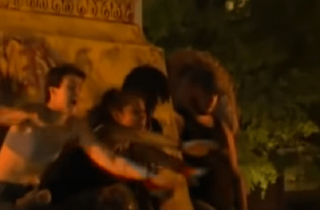Protester Critically Injured After Protester Topples Confederate Statue on Top of Him