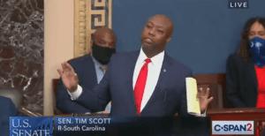 Senator Tim Scott Calls Out Democrats For Blocking Police Reform Bill