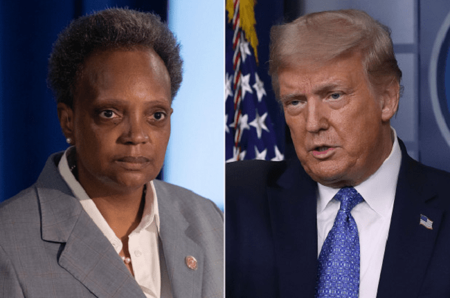 President Trump and Chicago Mayor Lightfoot Agree To Deploy 200 Federal Agents