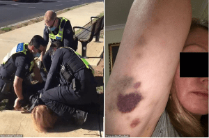 Mother Pinned By Cops and Fined $1,652 For Breaking Melbourne's Fascist Lockdown Rules
