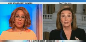 CBS's Gayle King Tells Nancy Pelosi Her Language Is As Bad As Trump's