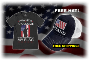 """Receive A FREE """"I Stand"""" Hat With Every T-Shirt Ordered!"""