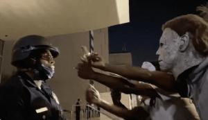 VIDEO: BLM Hurls Racial Slurs At Black Police Officer Just Doing His Job