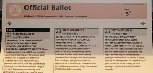 California Voters Receive Ballots Missing One Thing: A Way To Vote For President