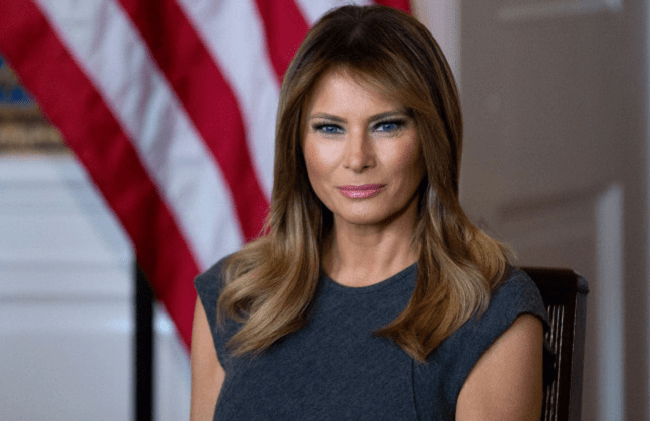 First Lady Melania Trump Gives Update On Her Condition