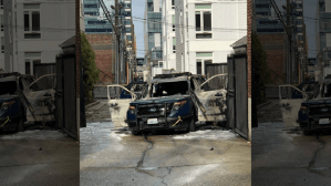Police Car In Seatle Set On Fire With Officer Inside, Man Arrested