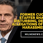 Former Cuomo Staffer Shares Disturbing, Detailed Allegations Of Sexual Harassment
