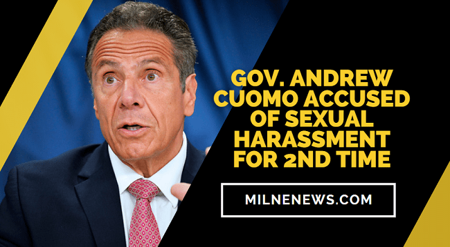 Gov. Andrew Cuomo Accused Of Sexual Harassment For 2nd Time