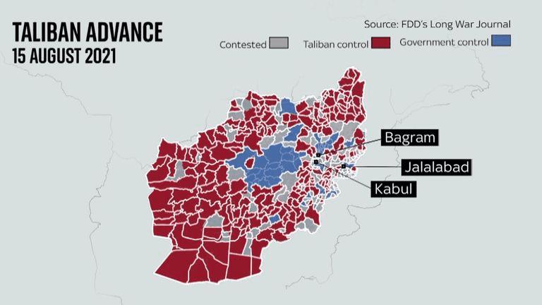 Taliban Enters Kabul, President Ashraf Ghani Leaves Afghanistan, US Diplomats Evacuate