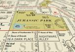 Film Map by Dorothy Jurassic Park