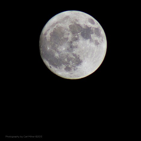 The February Full Moon 2013 ...The Hunger Moon