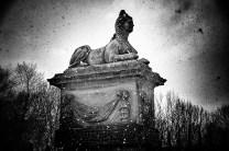 Snow Sphinx of Newsam