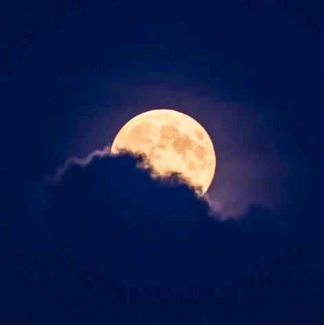 Super Moon over Leeds