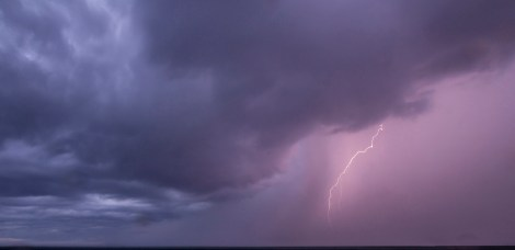 Lighting Storm at Sea on MilnersBlog