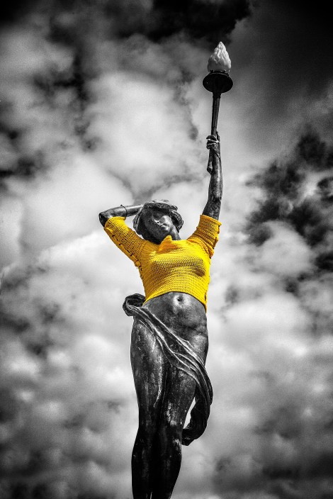 City Square Nymph Tour de Yorkshire Leeds in Colour ©Carl Milner Photography 2014